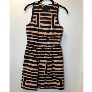 Tibi 4C Stripped Dress